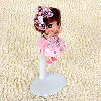 Adjustable Doll Stand Display Holder for OB11 Dolls Display Stand -White