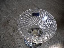 International Silver Co. Genuine Crystal Candy Dish