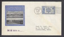 US First Day Cover FDC - #794 - 5¢ Navy Commemorative - MAY 26 1937