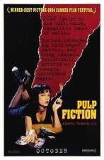 PULP FICTION Movie POSTER 27x40 G John Travolta Samuel L. Jackson Uma Thurman