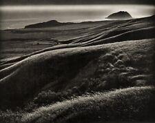 1960s Vintage MORLEY BAER Mountain Ridges California Landscape Photo Art 11X14