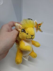 McDonalds Happy Meal Toy Neopets  Kyrii Yellow 2005, Raindorf Clip & Star Tag