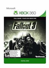 Fallout 3 DOWNLOAD DLC FULL GAME Xbox 360 / Xbox One Backward Compatibility