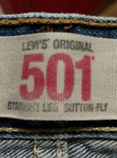 Vaqueros Levi Strauss 501 azul blue W36 L30 o L32 (0009)