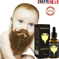 Beard Growth Oil Facial Hair Care Serum Product Mustache Fast Treatment For Men