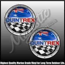 QUINTREX - 250mm X 250mm X 2 - BOAT DECALS