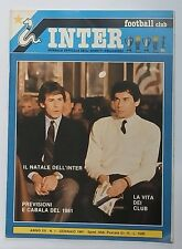 50744 Inter Football Club - a. XX n. 1 1981 - Previsioni del 1981; Natale Inter