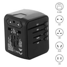 Universal Travel Plug Adapter Outlet Converter With 4 USB Power Charging Ports