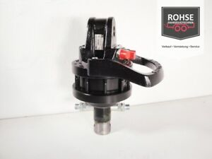 Rotator 1to. 40/20mm 10kn Endlosdrehend Holzgreifer Zange Fällgreifer
