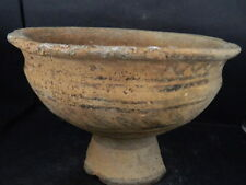 Ancient Large Size Teracotta Painted Cup Indus Valley 2500 BC No Reserve #Ik523