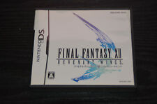 Used DS Final Fantasy XII REVENANT  WINGS  NINTENDO JAPANESE IMPORT