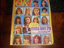 OK AGE TENDRE N°179/JUIN 1979/SPECIAL ELECTION MISS OK! 1979