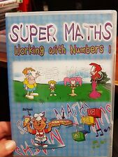 Super Maths Working With Numbers 1  -  PC GAME - FREE POST