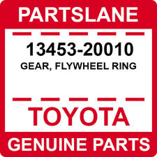 13453-20010 Toyota OEM Genuine GEAR, FLYWHEEL RING
