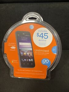 Brand New Sealed ZTE Maven Cell Phone (AT&T Go Phone) No Annual Contract 4G