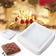 Square Silicone Cake Mold Chocolate Mousse Dessert Pastry DIY Baking Mould Tool