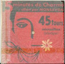 Disque en carton et plastique 45 T Mexisonor Georges Moustaki Milord no vinyle