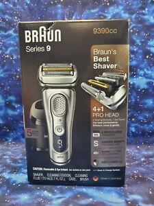 Braun Series 9 9390cc Shaver Wet Dry Electric Razor Precision Trimmer.