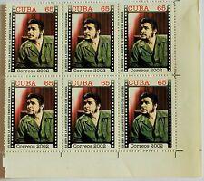 Che Guevara Blocco di 6 francobolli Mint stamps Havana 35 Anniversary of death