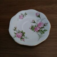 Vintage EB 1850 Foley bone china made in England Saucer with Roses