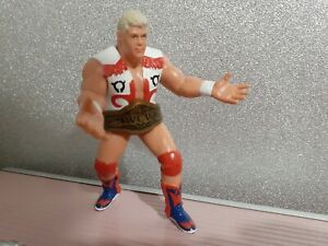 Dustin Rhodes UK Exclusive 1991 WCW Galoob Action Figure (ULTRA RARE)