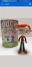 OUCH TWINS by RON REGE CRITTER BOX, Vinyl Art Toys brend  new.
