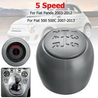 5 Marce Pomello Leva Cambio 71775051 Per Fiat 500 500c Panda 169 03>11 2003>2011