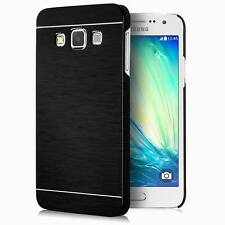 Hybrid Metal Brush Shockproof Hard Back Case Cover For Samsung Galaxy S8 J5 A5