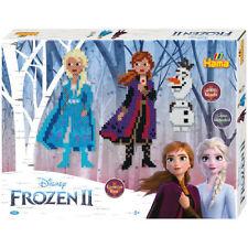 HAMA 4000 Bügelperlen Frozen 2 Eiskönigin Anna Elsa