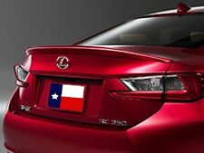 Lexus RC Coupe 2015+ Painted Factory Style Lip Mount Rear Spoiler USA Made