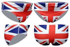 Acclaim Hogar Naciones Británico SPORTS Para 7 CM Bandera Braga Bañador Hombre