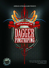 Wizard's Dagger Pinstriping DVD by Airbrush Action: Use Createx, Wicked Colors