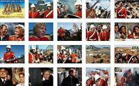 Zulu Rorke's Drift Michael Caine Trading Card Set FREE UK POSTAGE