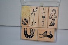 Close to My Heart Circus Performers Stamp Set NEW