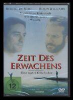 DVD ZEIT DES ERWACHENS - ROBERT DE NIRO + ROBIN WILLIAMS + JOHN HEARD ** NEU **