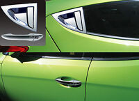 Chrome Door Handle Cover Molding For 2011 2017 Hyundai Veloster & Turbo
