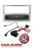 Vauxhall Astra H 2005 On Complete Car Stereo Facia + Wiring Fitting Kit Silver