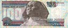 EGYPTE EGYPT 100 pounds SPHINX NEUF UNC