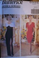 UNCUT Vintage Butterick SEWING Pattern 6529 Evening Gown Prom Formal 6-22 FF OOP