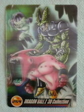 JAPAN DRAGONBALL x MORINAGA Sushuu 3D Card FRIEZA CELL MAJIN BUU DX3D-36-254