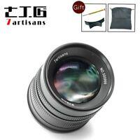 7artisans 55mm F1.4 manual focus APS-C lens for Sony E mount NEX-6 A6500 A6300