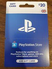 PLAYSTATION Store £20 Wallet Top-Up PSN Wallet Code