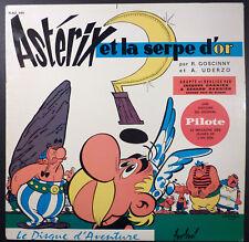 Astérix et la serpe d'or disque Uderzo Festival 33 tours TBE