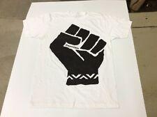 RANGZEN BLACK FIST RARE PROMO ONLY SHIRT SZ MEDIUM/LARGE FREE TIBET NWOT
