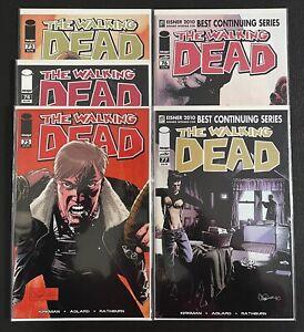 Waking Dead #73, #74, #75, #76, #77 - Walking Dead Key issue set -Image Comics