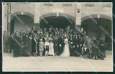 Vicenza Rocchette Matrimonio Foto cartolina QK7673