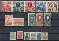 BE5765/ RUSSIA – 1936 / 1941 MINT SEMI MODERN LOT – CV 420 $