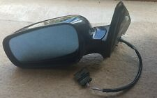 VW Golf Mk4 Bora Front Passenger NSF Electric Heated Wing Mirror Black Lc9z