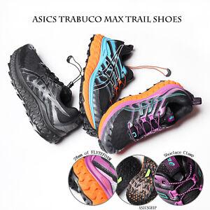 Asics Trabuco Max Men Women All Terrain GUIDESOLE Trail Running Shoes Pick 1