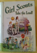 GIRL SCOUTS - TAKE THE LEAD! -TIN BOOK SHAPED BOX